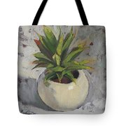 Potted Succulent I Tote Bag
