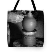 Potter At Work Tote Bag