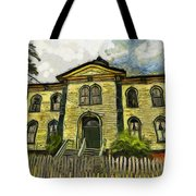 Potter Schoolhouse Tote Bag