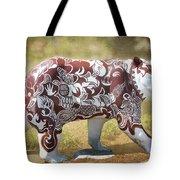 Pottery Bear Tote Bag