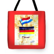 Potus For All Black Brown, Red, Yellow, White Tote Bag