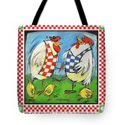 Poultry In Motion Poster Tote Bag