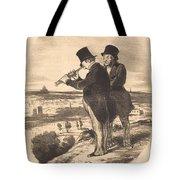 Pour Une Belle Vue, V'la Une Belle Vue!... Tote Bag