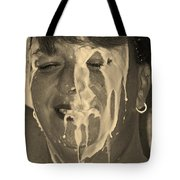 Poured Milk Tote Bag