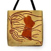 Pout - Tile Tote Bag