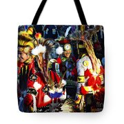Pow Wow Beauty Of The Past 5 Tote Bag