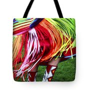 Pow Wow Beauty Of The Past 9 Tote Bag