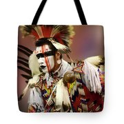 Pow Wow Chicken Dancer 1 Tote Bag