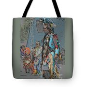 Pow Wow Competition Tote Bag