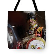 Pow Wow Portrait Of A Proud Man 2 Tote Bag