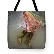 Pow Wow Shawl Dancer 4 Tote Bag
