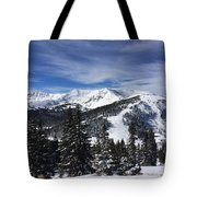 Powder Day On The Pass Tote Bag