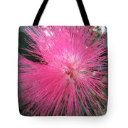 Powder Puff Tree Tote Bag