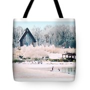 Powell Gardens Chapel Tote Bag