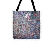 Power And Confusion In Universe Tote Bag