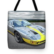 Power And Performance - Ford Gt40 Tote Bag
