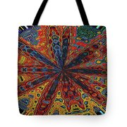 Power Flower Tote Bag