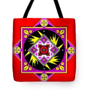 Power Generator Of The Bird People Of Deneb Vii Tote Bag by Eikoni Images