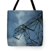 Power Grid Tote Bag