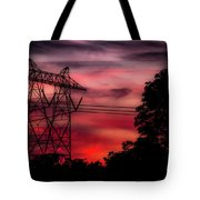 Power In Red Tote Bag