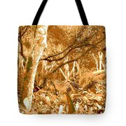 Power Line Tote Bag