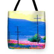 Power Lines 3 Tote Bag