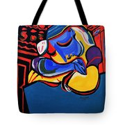 Power Nap  Picasso By Nora Tote Bag