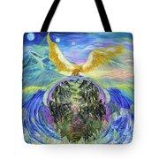 Power Of Great Spirit Tote Bag