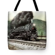 Power On The Curve Tote Bag