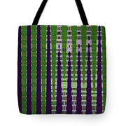 Power Tower And Agave Abstract Tote Bag