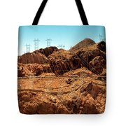 Power Transport From Hoover Dam Tote Bag