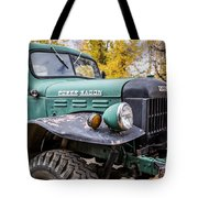 Power Wagon Tote Bag