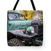 Power Wagon Tote Bag