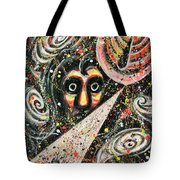 Powered Visions Of Mortal Tote Bag