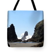 Powerful Sea Tote Bag