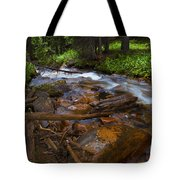Powerful Spring Runoff Tote Bag