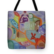 Powers That Be...alpha And Omega Tote Bag