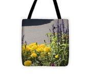 pr 141 - Flower Bed Tote Bag