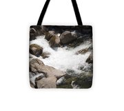pr 144 - White Water on the Merced Tote Bag