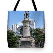 Praca Paris In Rio De Janeiro Tote Bag