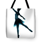 Practice Makes Perfect - Blue Tote Bag