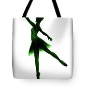 Practice Makes Perfect - Green Tote Bag