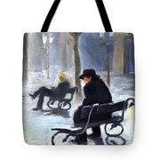 Prague Autumn Ray Tote Bag