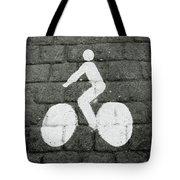 Prague Bike Lane-  By Linda Woods Tote Bag