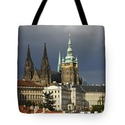 Prague Castle Complex Tote Bag