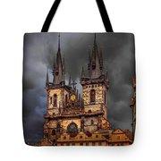 Prague Cathedral Tote Bag