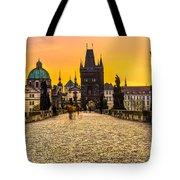 Prague - Charles Bridge - Czech Republic Tote Bag