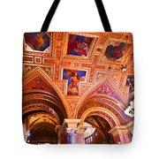 Prague Church Ceiling Tote Bag
