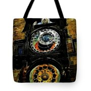 Prague Clock Tote Bag