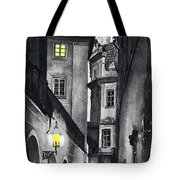 Prague Love Story Tote Bag